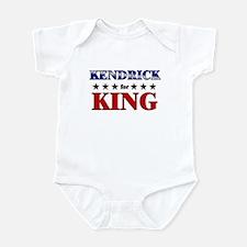 KENDRICK for king Infant Bodysuit