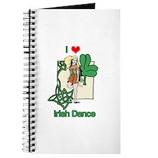 I Love Irish Dance Journal