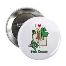 "I Love Irish Dance 2.25"" Button (10 pack)"