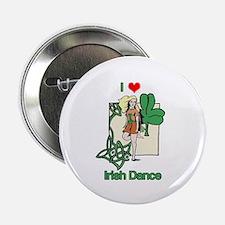 "I Love Irish Dance 2.25"" Button (10 pack)"
