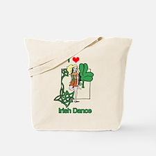 I Love Irish Dance Tote Bag