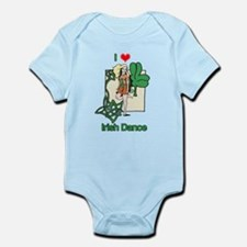 I Love Irish Dance Infant Bodysuit