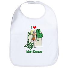I Love Irish Dance Bib