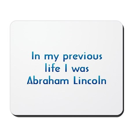 PL Abraham Lincoln Mousepad
