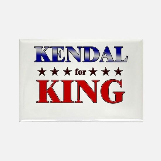 KENDAL for king Rectangle Magnet