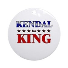 KENDAL for king Ornament (Round)