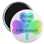 Proud To Be Of Irish Descent Magnet