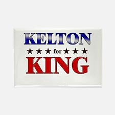 KELTON for king Rectangle Magnet