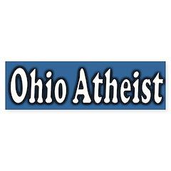 Ohio Atheist Bumper Bumper Sticker