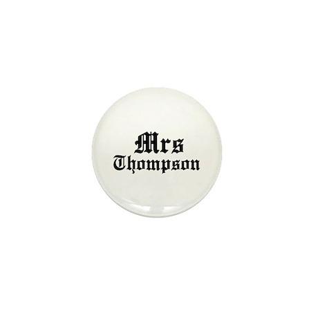 Mrs Thompson Mini Button (10 pack)