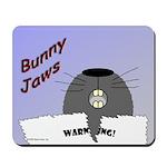 Bunny Jaws Mousepad
