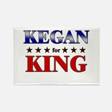 KEGAN for king Rectangle Magnet