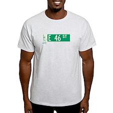 46th Street in NY T-Shirt