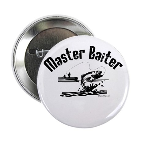 "Master Baiter 2.25"" Button"