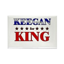 KEEGAN for king Rectangle Magnet