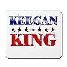 KEEGAN for king Mousepad
