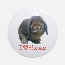 bunny lover Keepsake (Round)