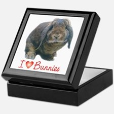 bunny lover Keepsake Box