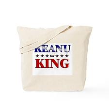 KEANU for king Tote Bag