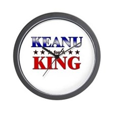 KEANU for king Wall Clock