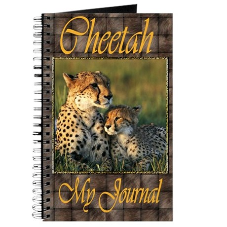 Cheetah Mother And Baby Journal