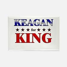 KEAGAN for king Rectangle Magnet