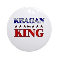 KEAGAN for king Ornament (Round)