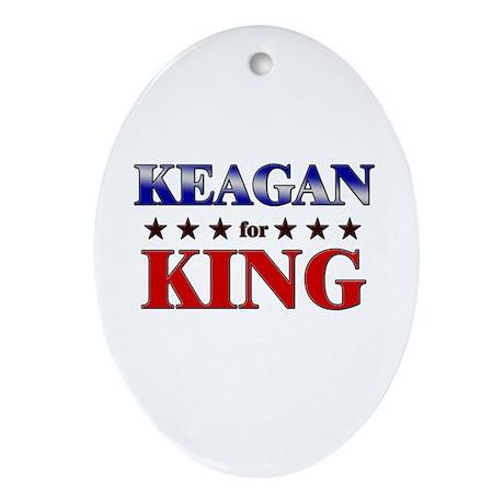 KEAGAN for king Oval Ornament