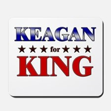 KEAGAN for king Mousepad