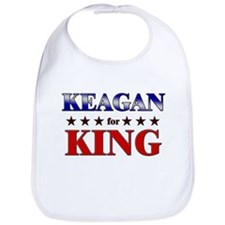 KEAGAN for king Bib