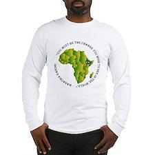 africa light shirts Long Sleeve T-Shirt