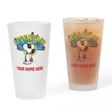 Snoopy peanuts Drinking Glass