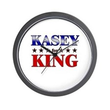 KASEY for king Wall Clock