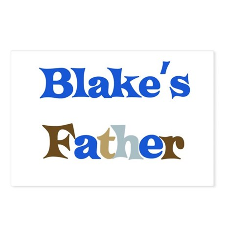 Blake's Father Postcards (Package of 8)