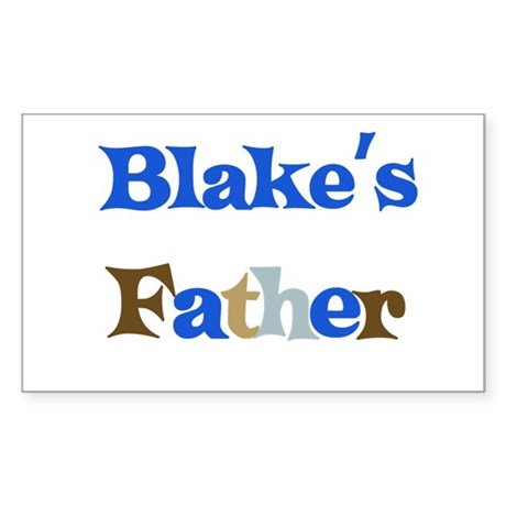 Blake's Father Rectangle Sticker