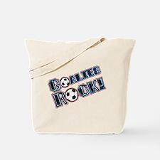 Goalies Rock! Tote Bag