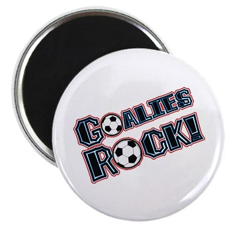 Goalies Rock! Magnet