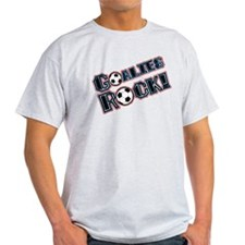 Goalies Rock! T-Shirt