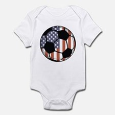 Soccer Ball USA Infant Bodysuit