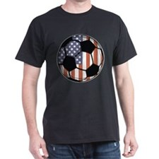 Soccer Ball USA T-Shirt