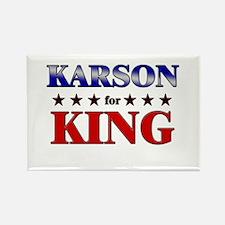 KARSON for king Rectangle Magnet
