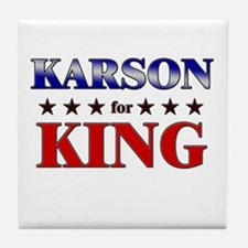 KARSON for king Tile Coaster