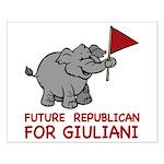 Future Republican for Giuliani Small Poster