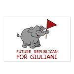 Future Republican for Giuliani Postcards (Package