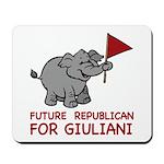 Future Republican for Giuliani Mousepad