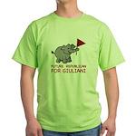 Future Republican for Giuliani Green T-Shirt