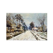 Road to Louveciennes Rectangle Magnet (10 pack)