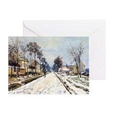 Road to Louveciennes Greeting Card