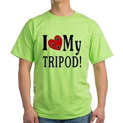 I Love My Tripod! T-Shirt