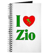 I Love (heart) Zio Journal
